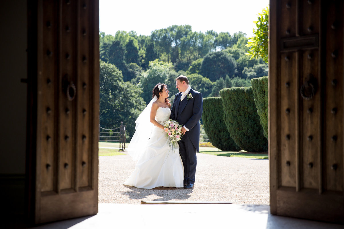 summer wedding at st audries park