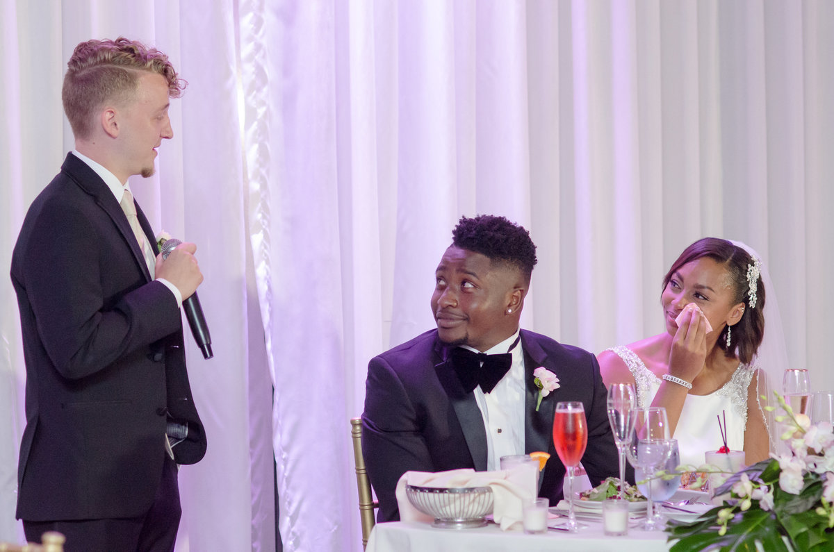 NFL Miami Dolphins Brandon Radcliff ShaKyra Radcliff Briza on the Bay Wedding Andrea Arostegui Photography-267