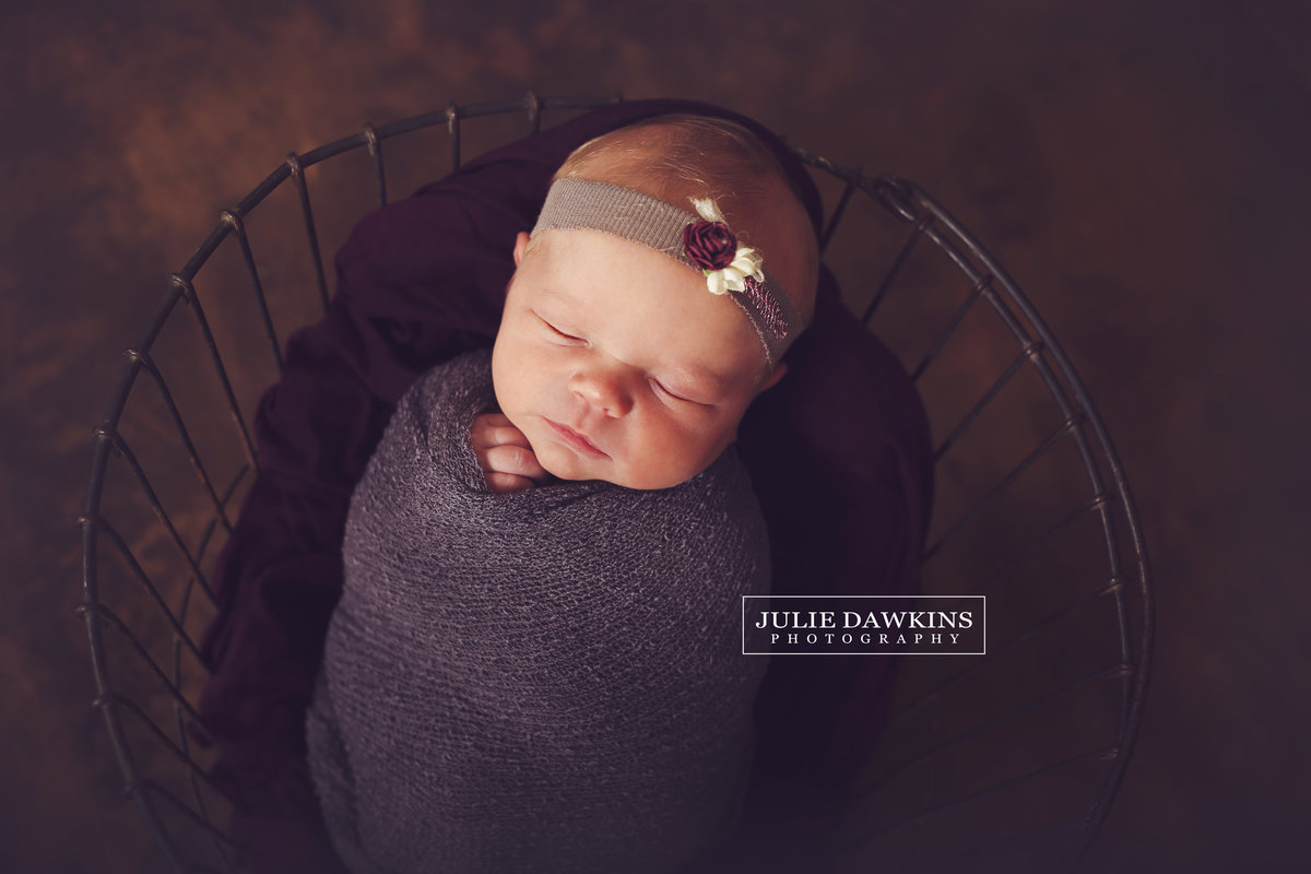 Newborn Photography Broken Arrow Studio Julie Dawkins