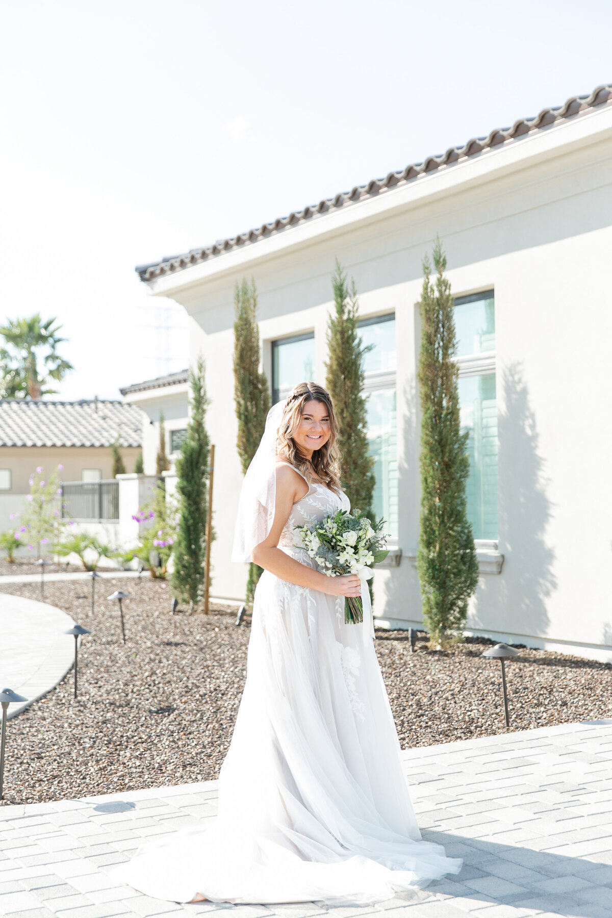 Karlie Colleen Photography - Arizona Backyard wedding - Brittney & Josh-98