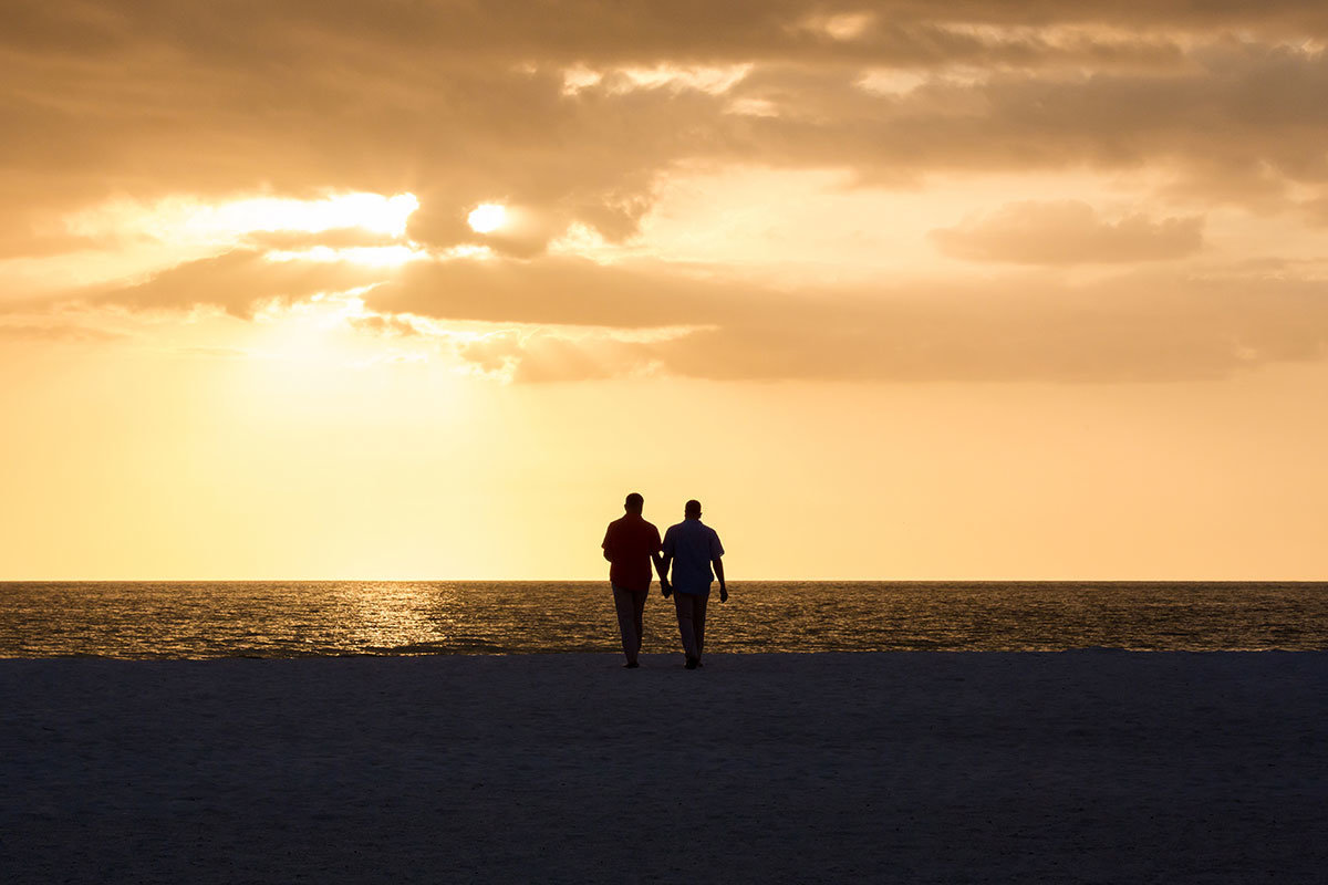 jw marriott marco island sunset same sex wedding photo