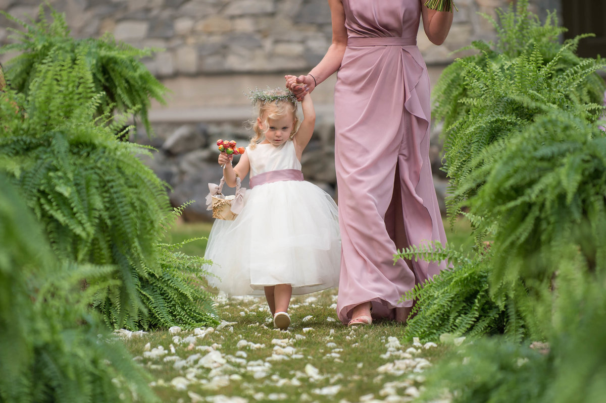 abbotsford wedding flower girl