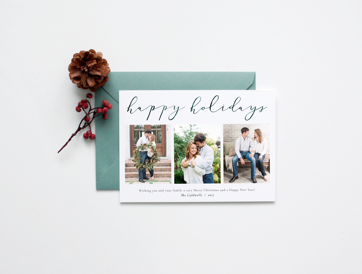 photo card template_horizontal_hh