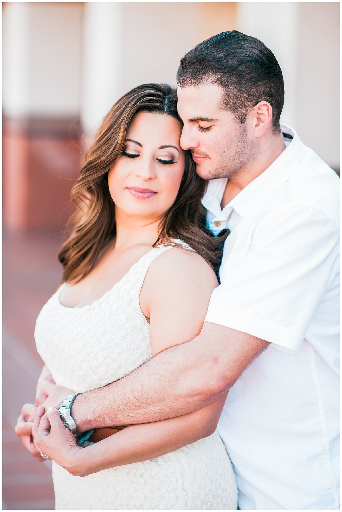 Southern california train depot engagement photographer photo012