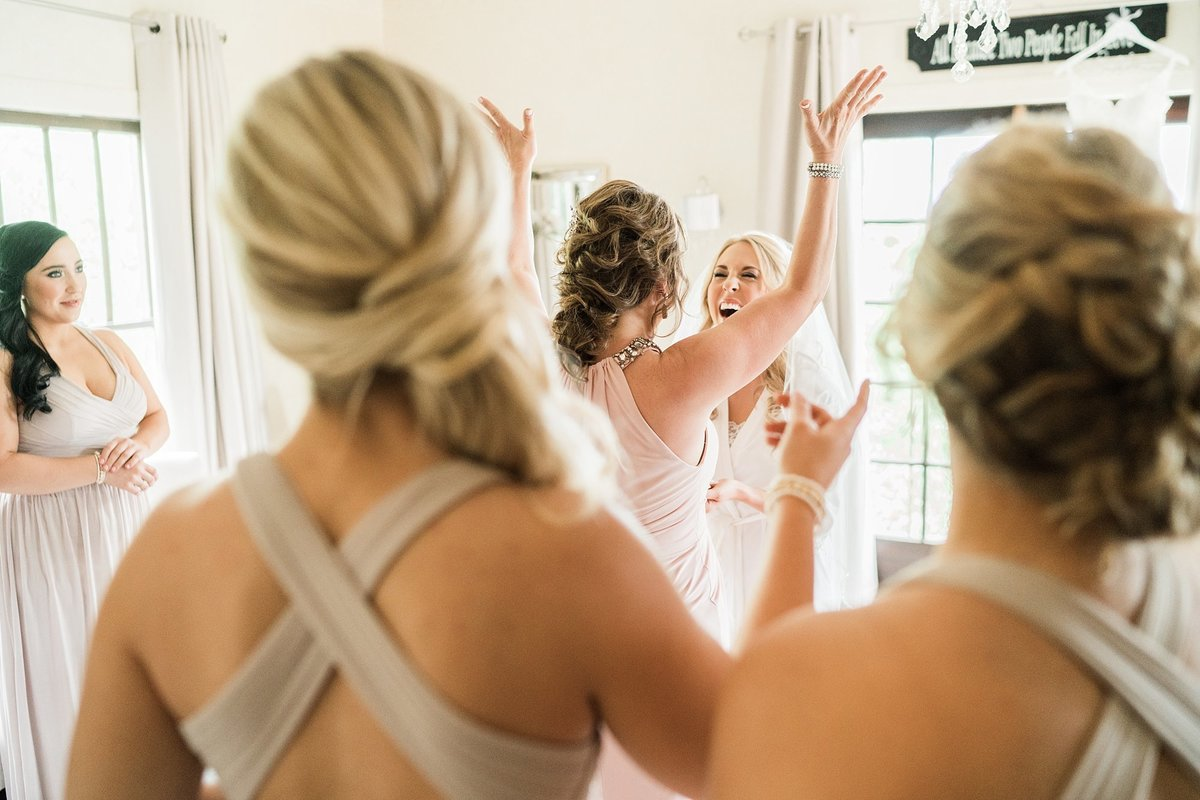 Secret Garden wedding photos bride getting ready Arizona wedding photographers Dan & Erin PhotoCinema