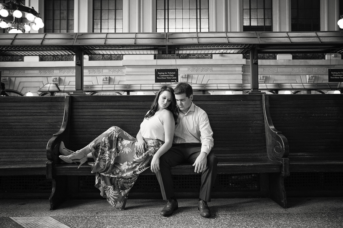 hoboken train station new jersey engagement photography (15)