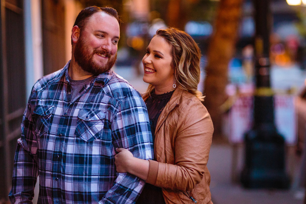 downtown seattle engagement photographer washington