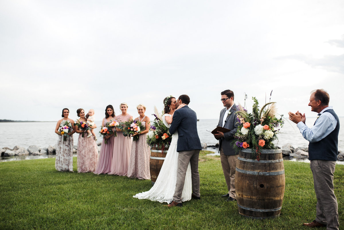Outer Banks Whalehead Club Wedding 89
