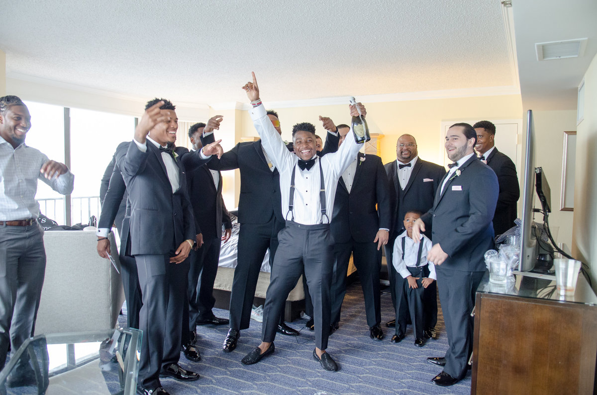 NFL Miami Dolphins Brandon Radcliff ShaKyra Radcliff Briza on the Bay Wedding Andrea Arostegui Photography-73