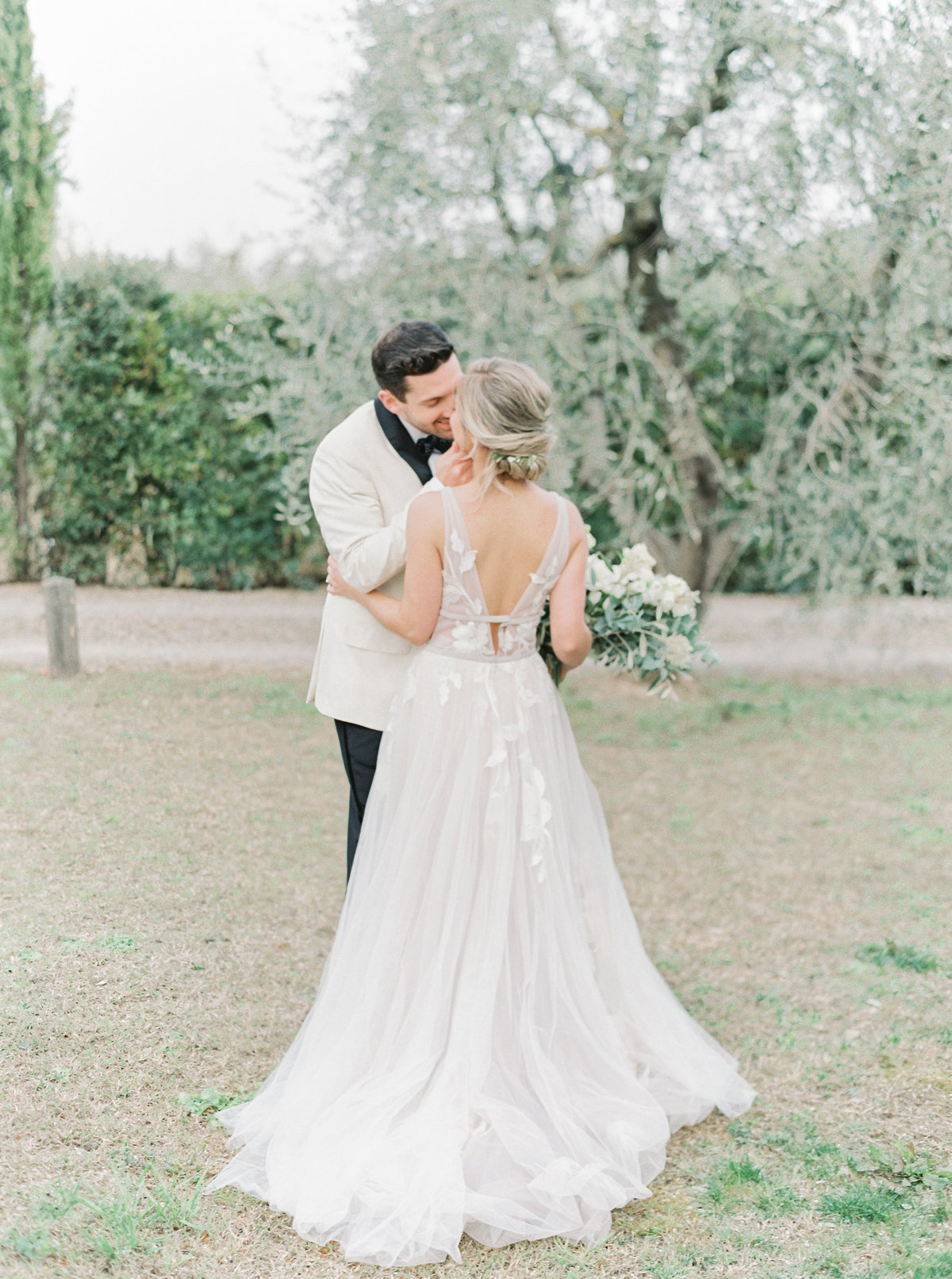 Tuscany Wedding Erica Nick - Lauren Fair Photography275