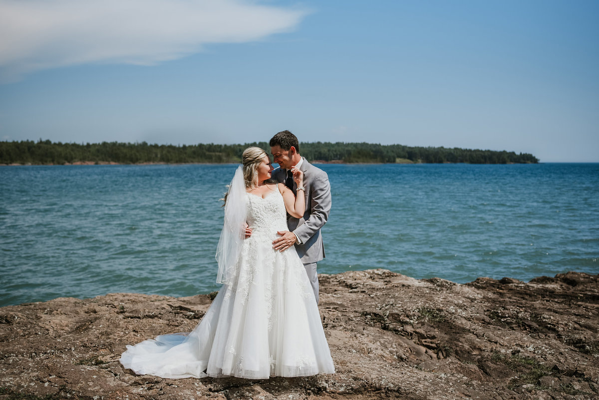 beyond the pines photography duluth wedding