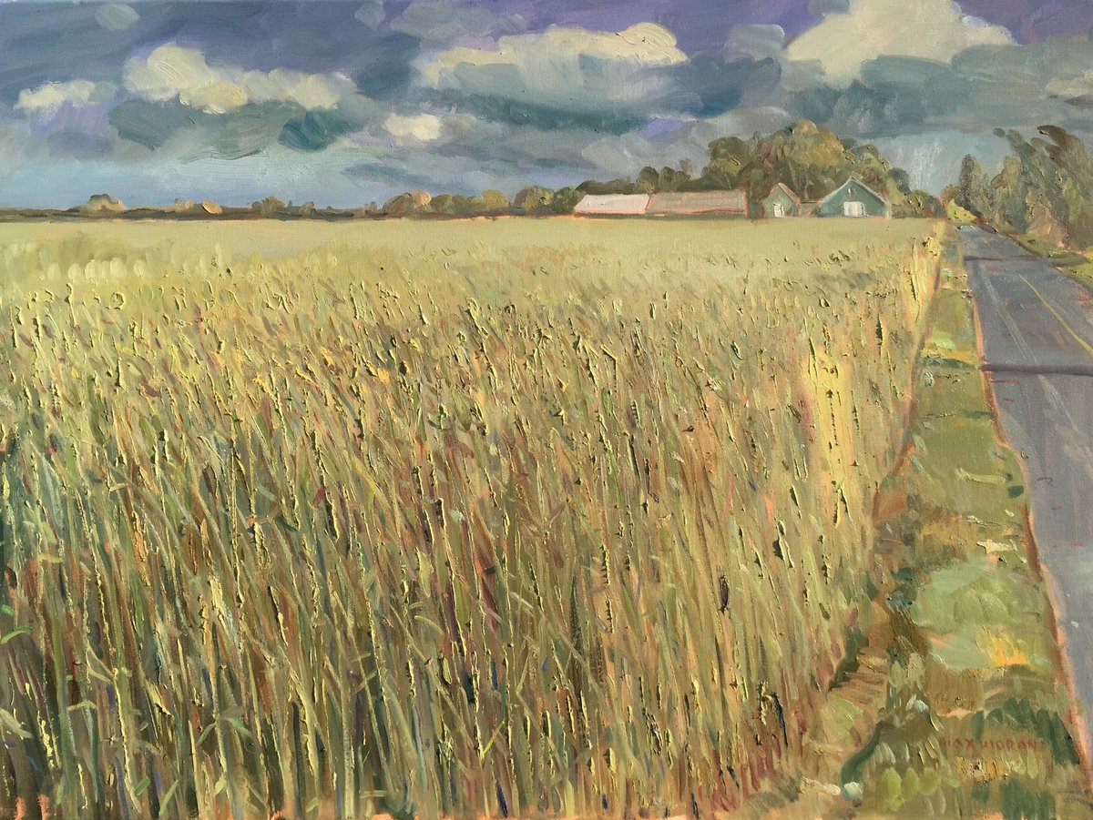 High Grass on Manor Lane 2 revised 30 x 40 ooc 6,000