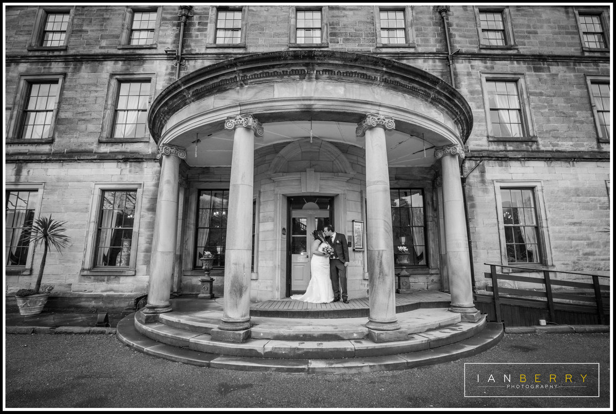 Beamish Hall wedding photographer