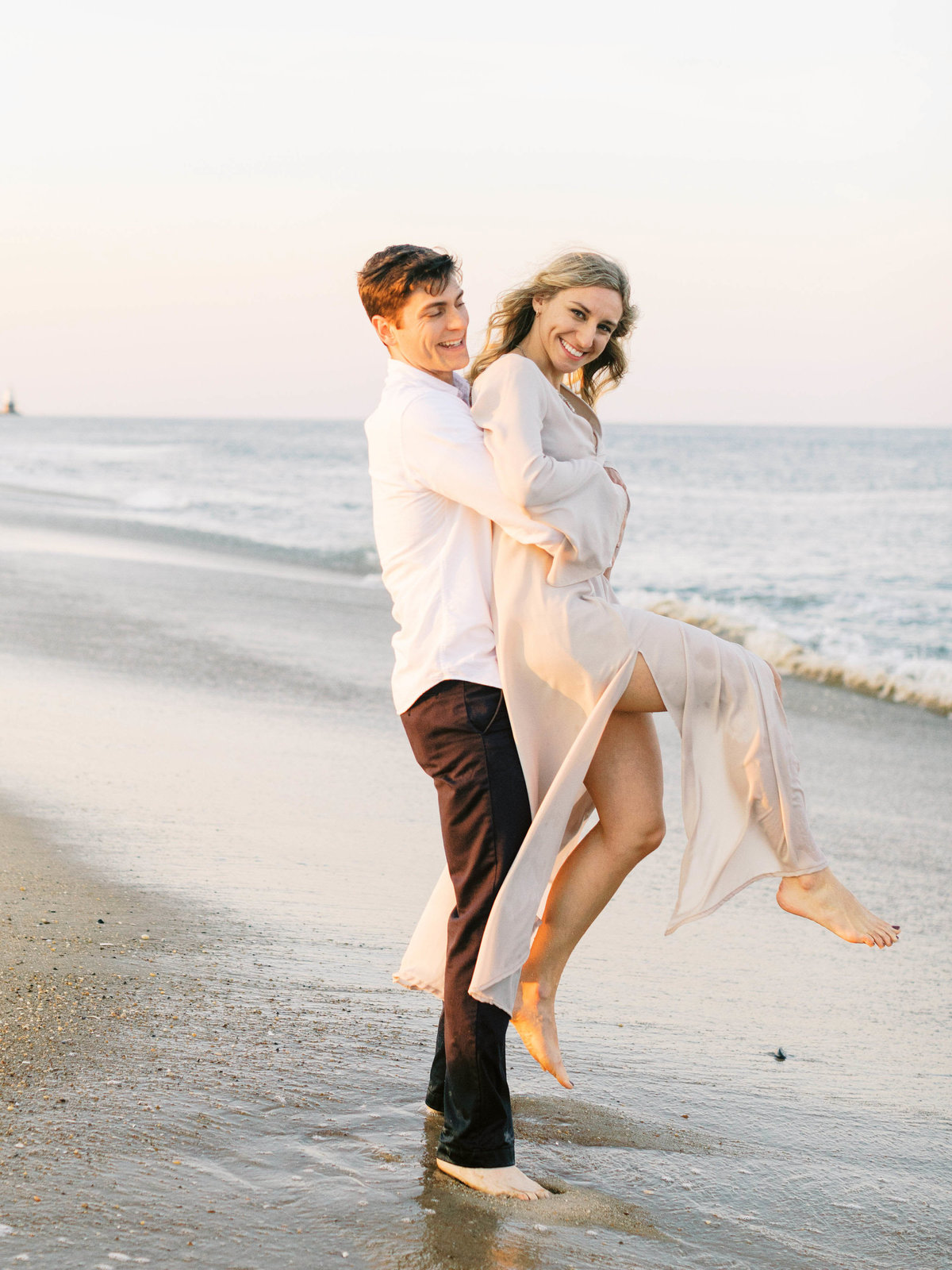 delaware beach wedding photographer, cape henlopen engagement session, delaware fine art wedding photographer-139