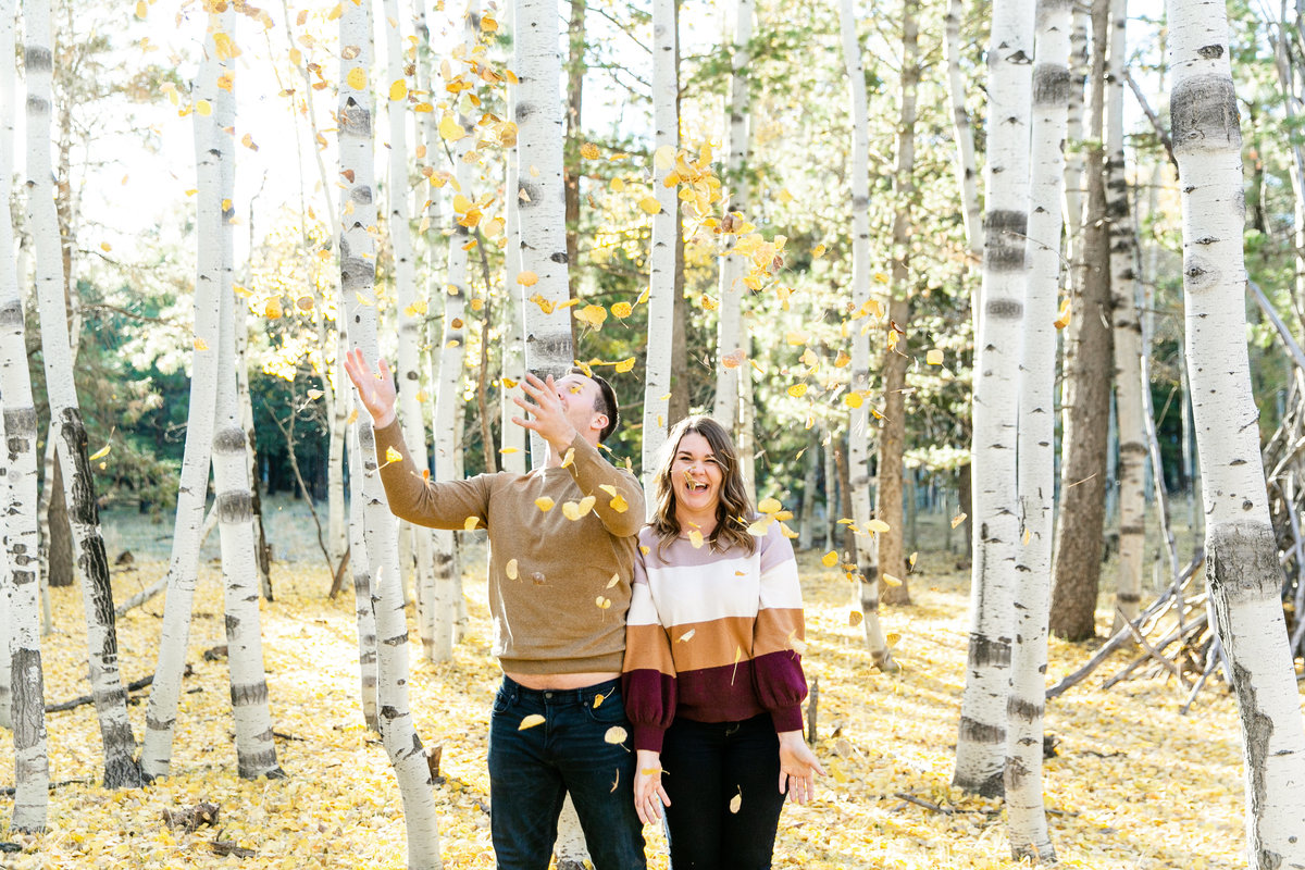 Karlie Colleen Photography - Flagstaff Arizona Engagement Photographer - Britt & Josh -108
