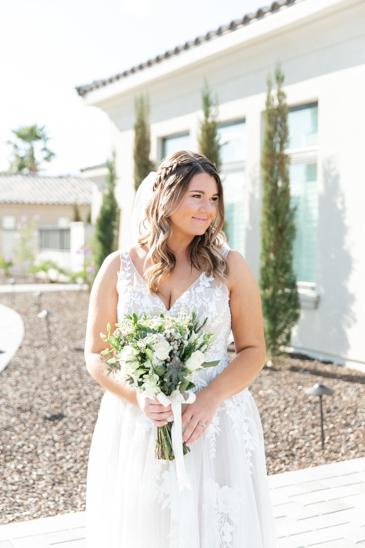 Karlie Colleen Photography - Arizona Backyard wedding - Brittney & Josh-82