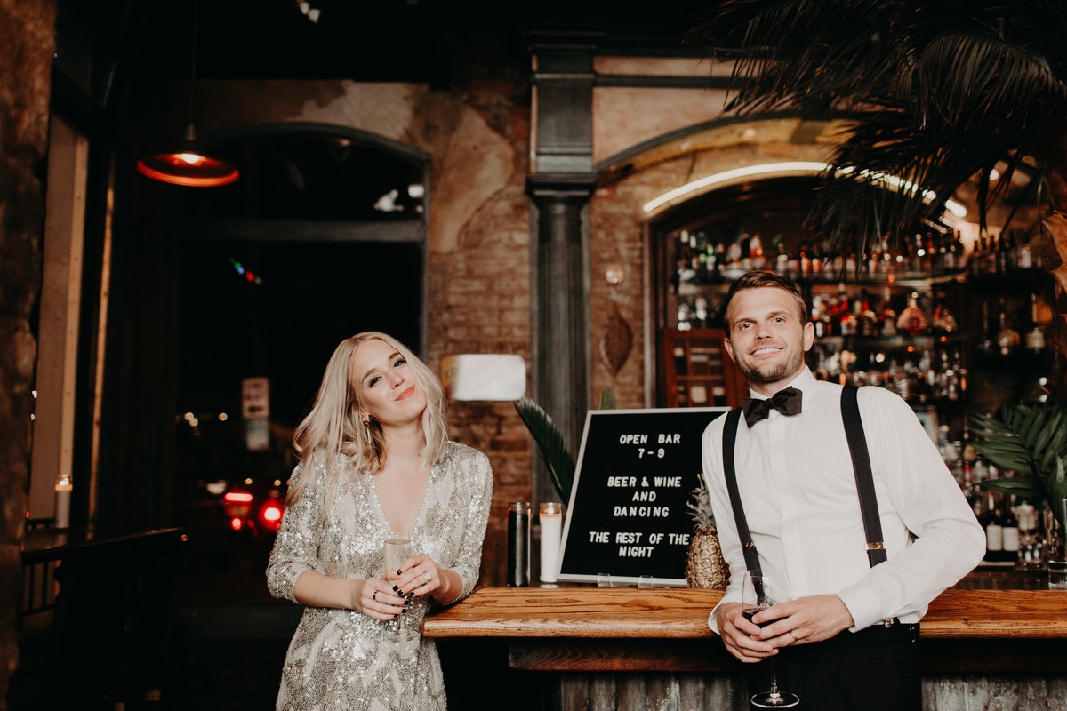 Fashion blogger Cath Claire gets married in a sequin Jenny Packham gown in her Havana-inspired, high fashion wedding with wedding planner For Love of Love.