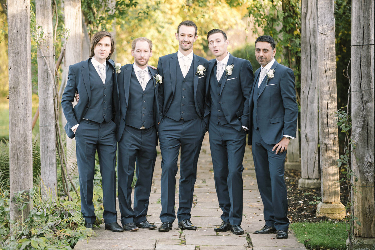 groom and groomsmen photo great fosters