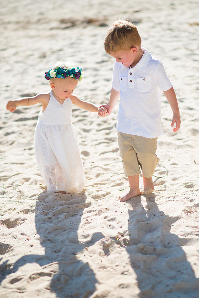 flower_crown_holding_hands_beach_photography_Morganton_point_family_photography