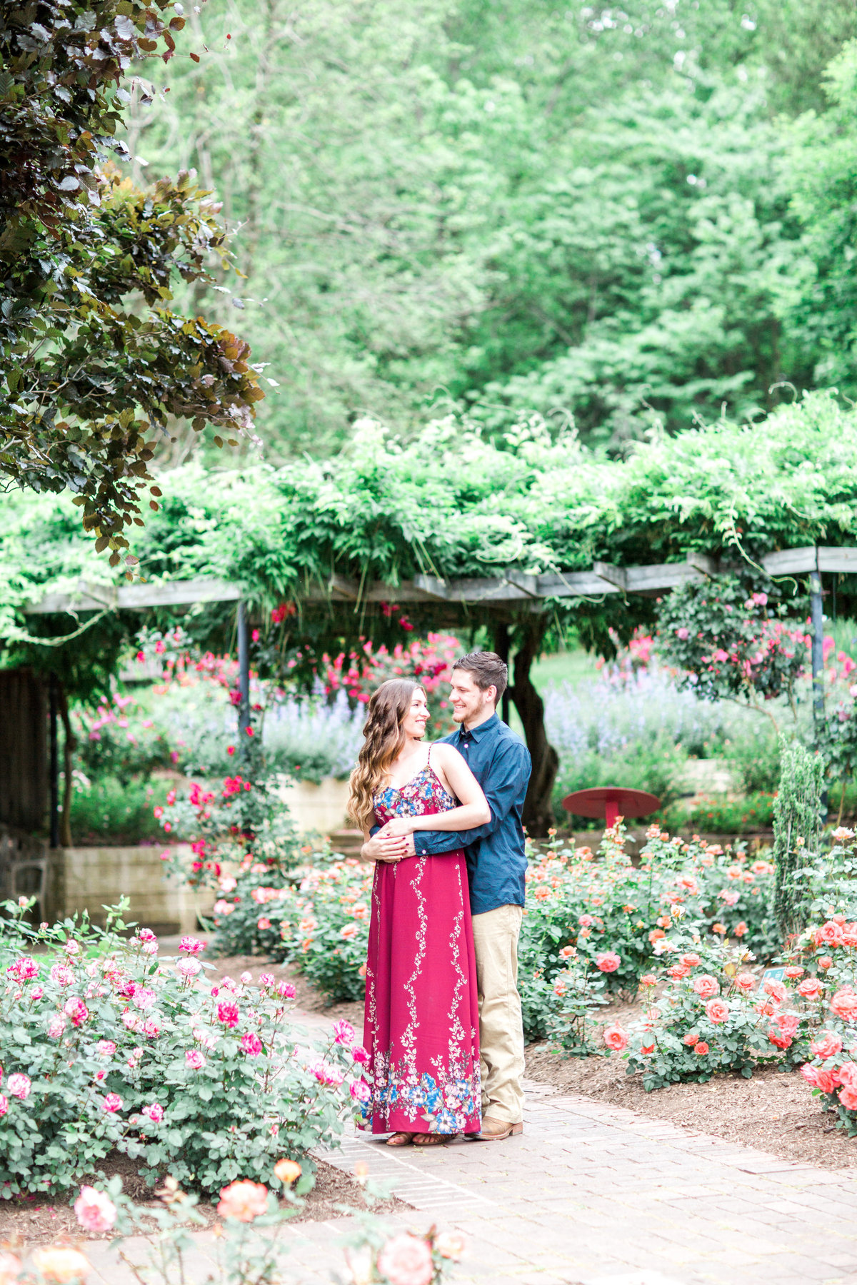 Cheyenne Mason Brookside Gardens Engagement-Chelsea s Favorites-0061