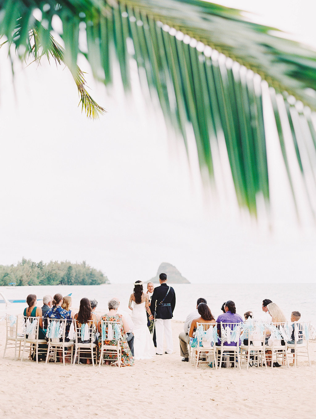 Beach Wedding Hawaii Kualoa Ranch