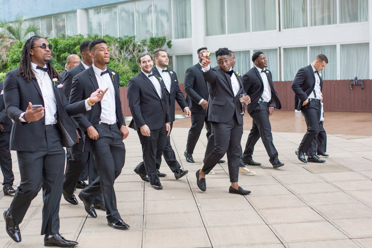 NFL Miami Dolphins Brandon Radcliff ShaKyra Radcliff Briza on the Bay Wedding Andrea Arostegui Photography-168