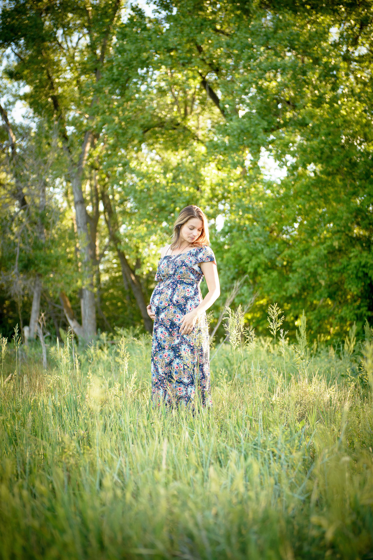 Maternity Photography at Bobolink Trail