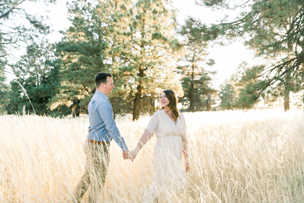 Karlie Colleen Photography - Flagstaff Arizona Engagement Photographer - Britt & Josh -123