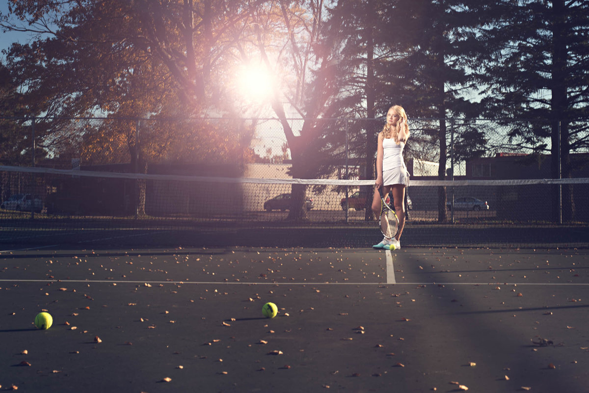 Tennis senior pictures for teens in minneapolis st paul