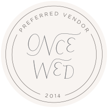 OnceWed_PreferredVendor_Circle_2014