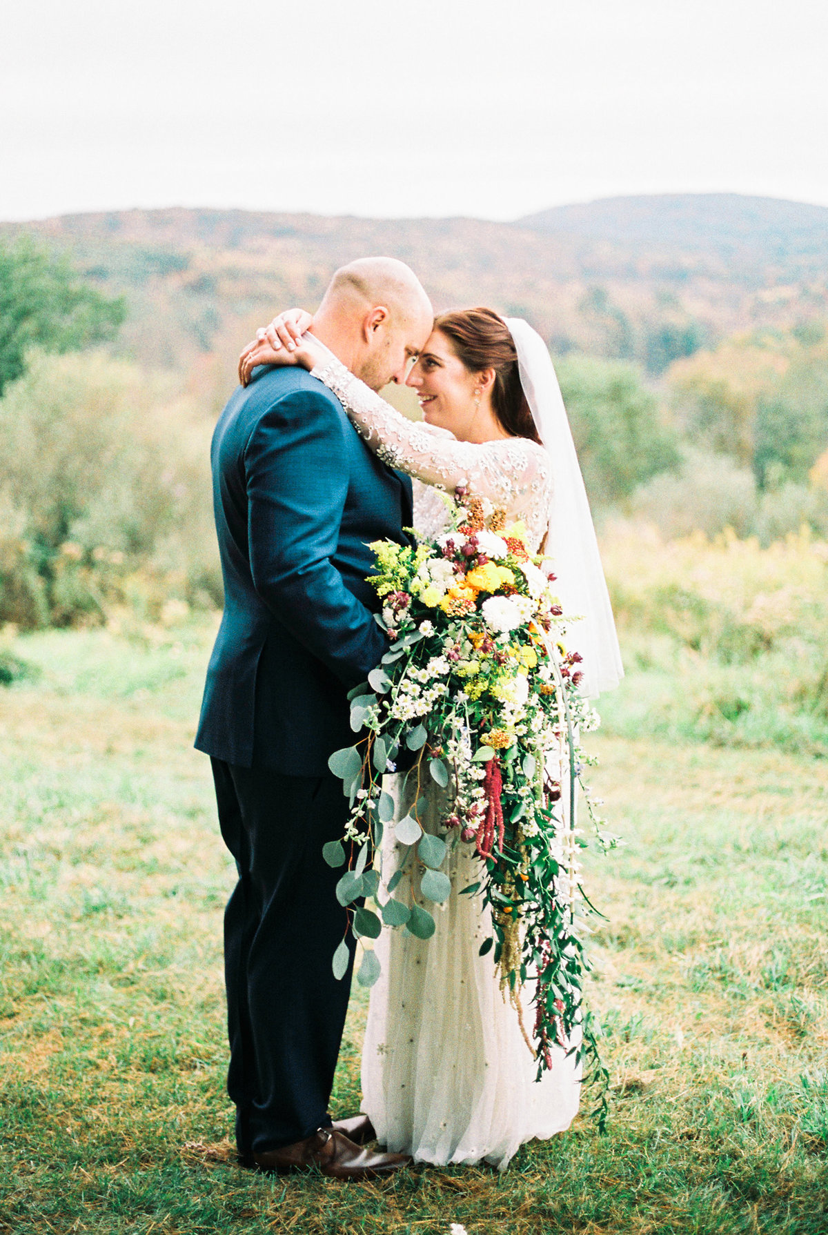 Michelle Behre Photography Private Estate Fall Wedding Dallas Pennsylvania New Jersey Fine Art Wedding Photographer New Jersey Wedding Photography Lake Louise Wedding Photographer Philly Wedding Photographer NJ Wedding Photographers BHLDN Bride-158