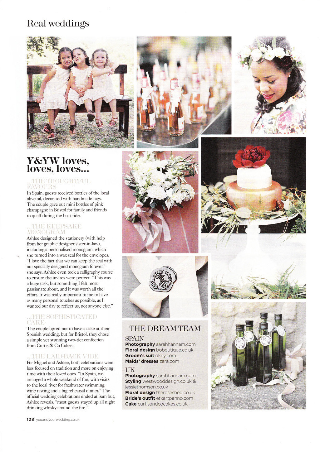 sarah hannam you and your wedding magazine bristol