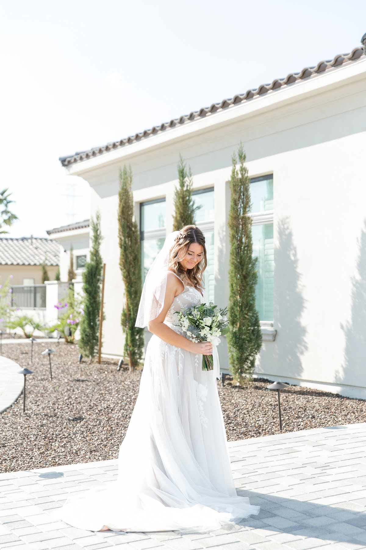 Karlie Colleen Photography - Arizona Backyard wedding - Brittney & Josh-96