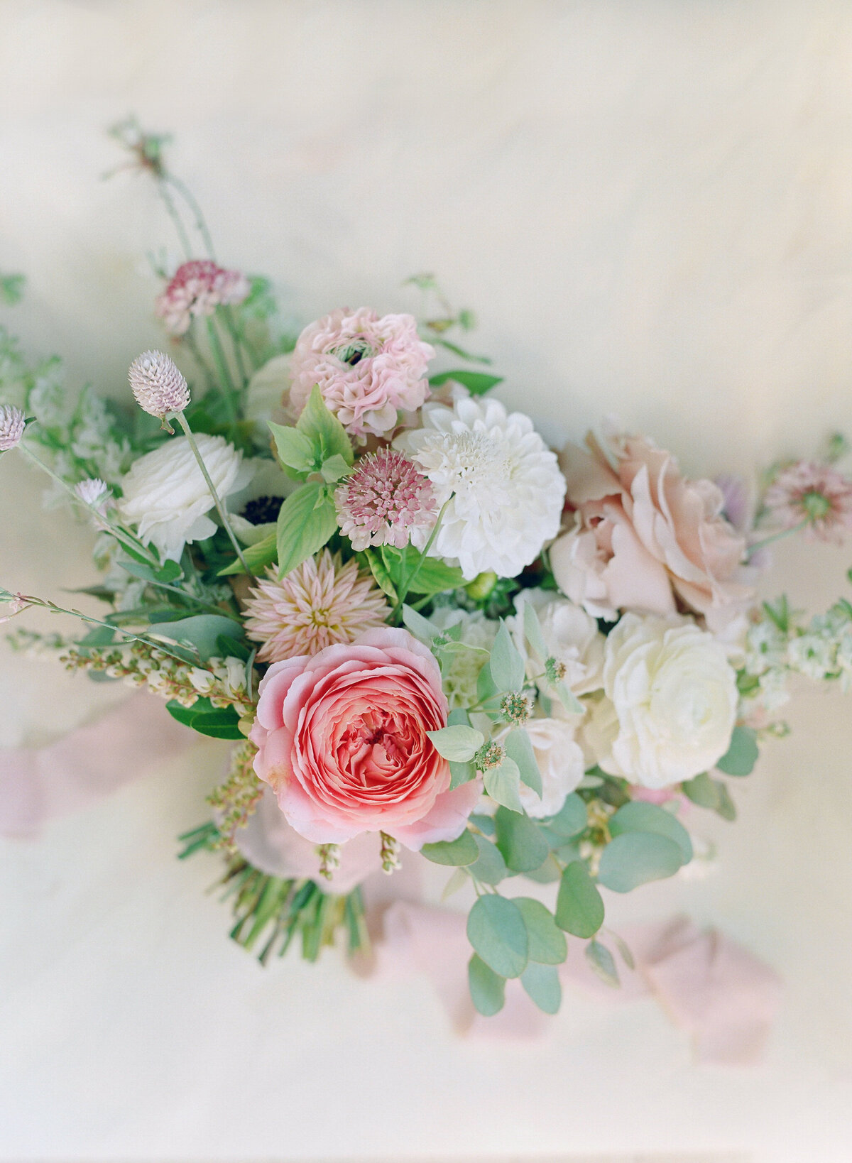 Pink Bride Bouquet