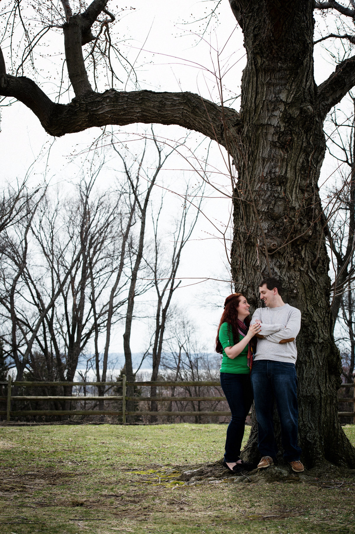 Elisabeth and Gabe in Oxen Hill Park