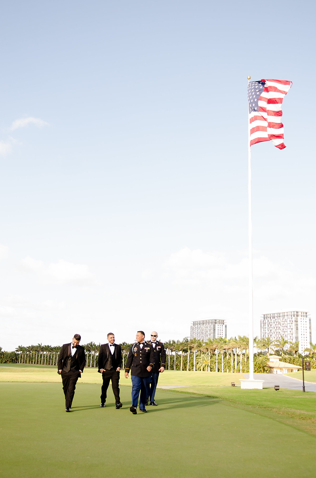 Veterans Day Wedding Military