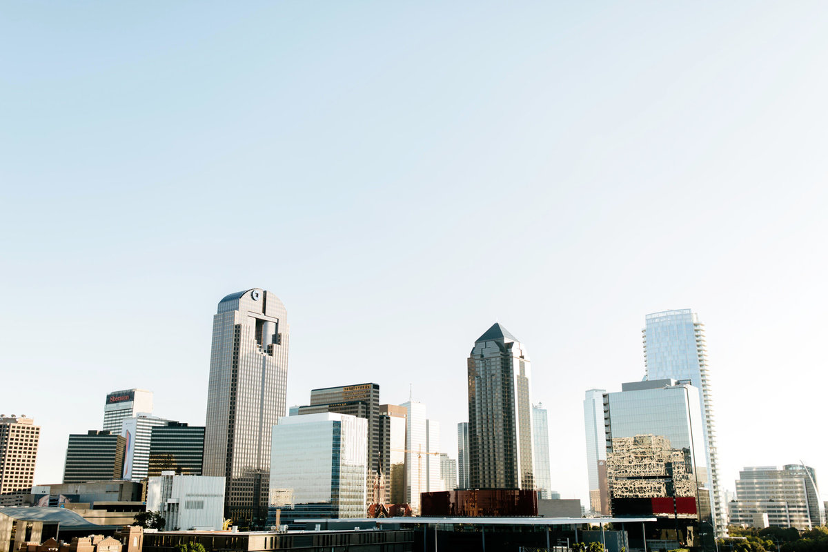 Eric & Megan - Downtown Dallas Rooftop Proposal & Engagement Session-8
