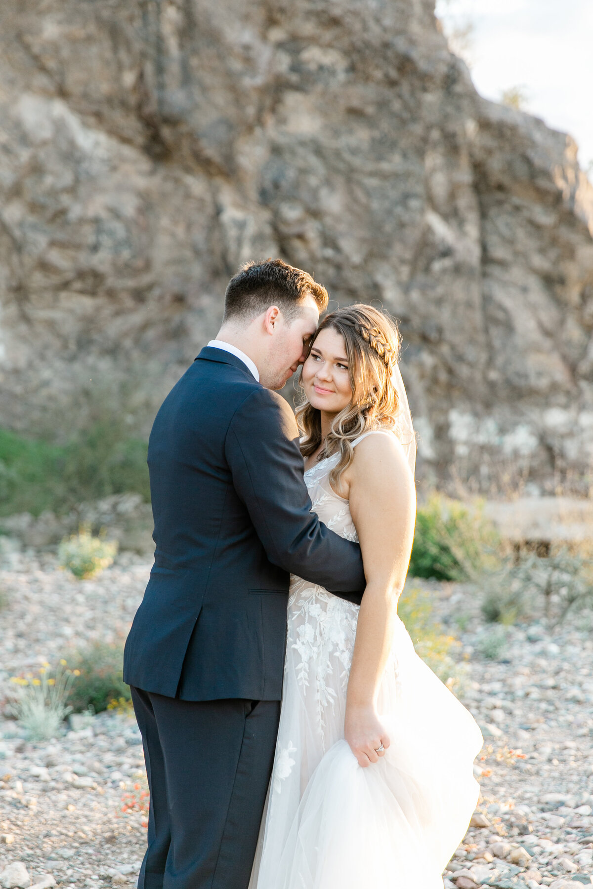 Karlie Colleen Photography - Arizona Backyard wedding - Brittney & Josh-209