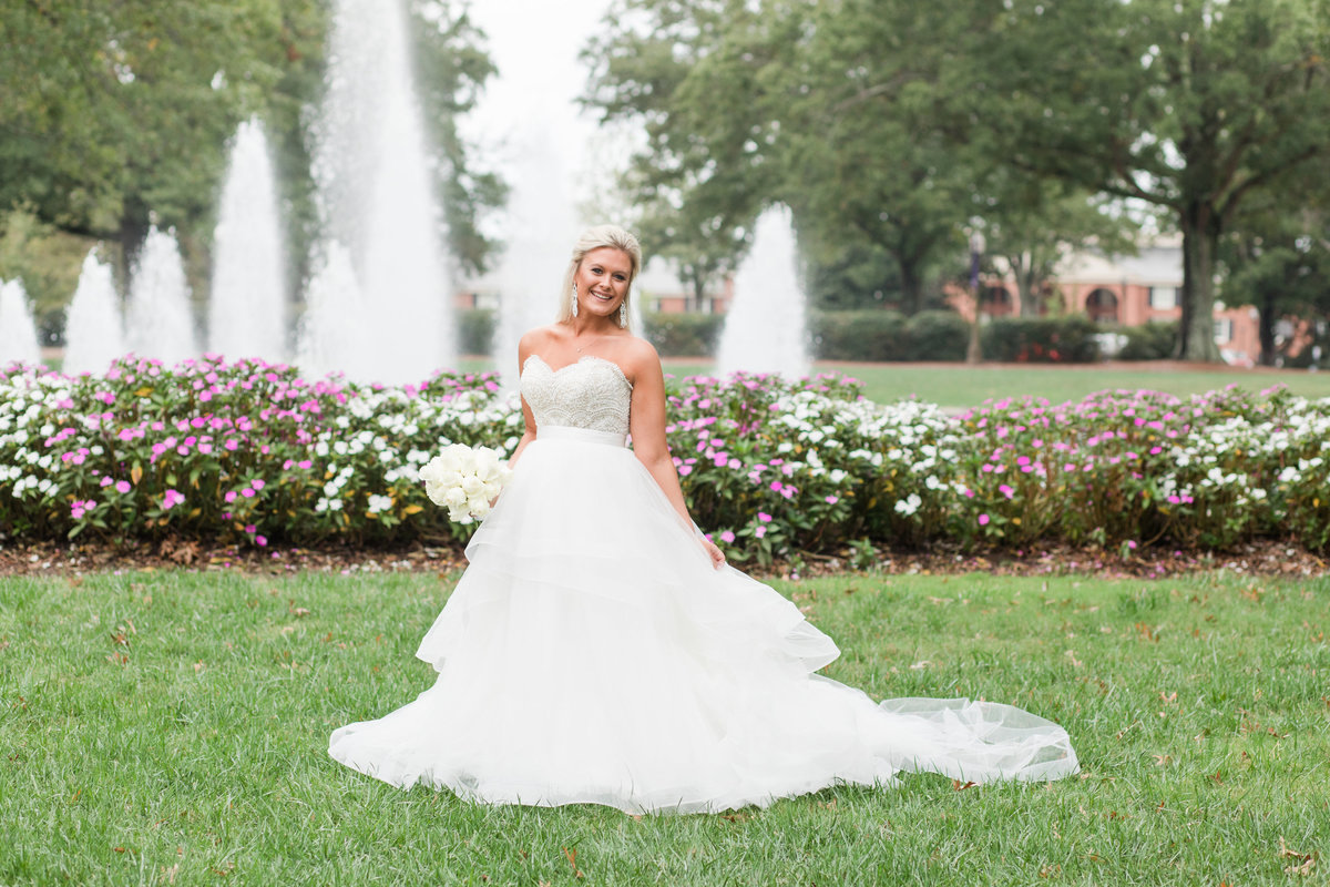Greenville Bridal Portraits | Jenny Williams Photography 3