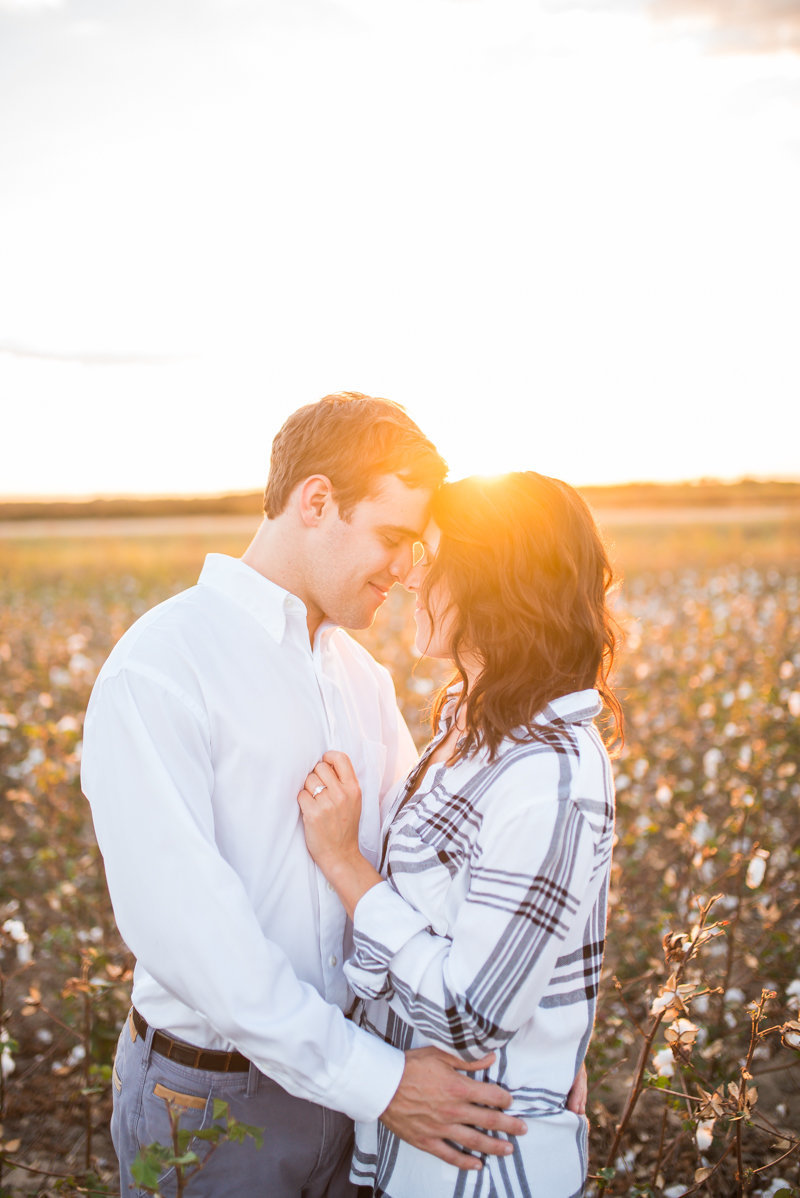 Sunset Engagement Session by Georgia Wedding Photographer Eliza Morrill-37