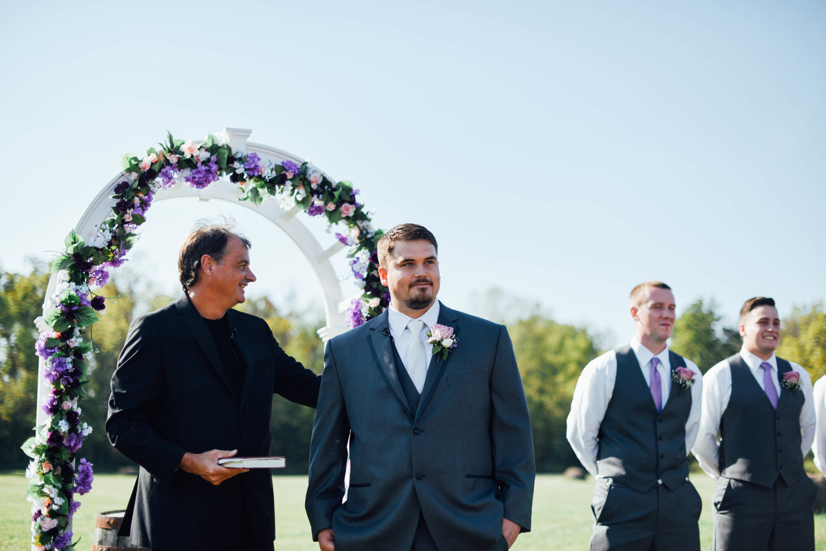 Wedding Ceremony Photographer in Dayton Ohio