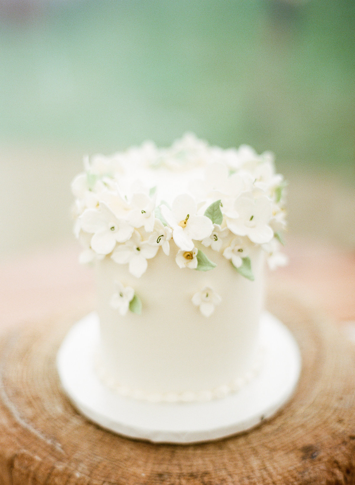 floral wedding cake boston wedding photographer