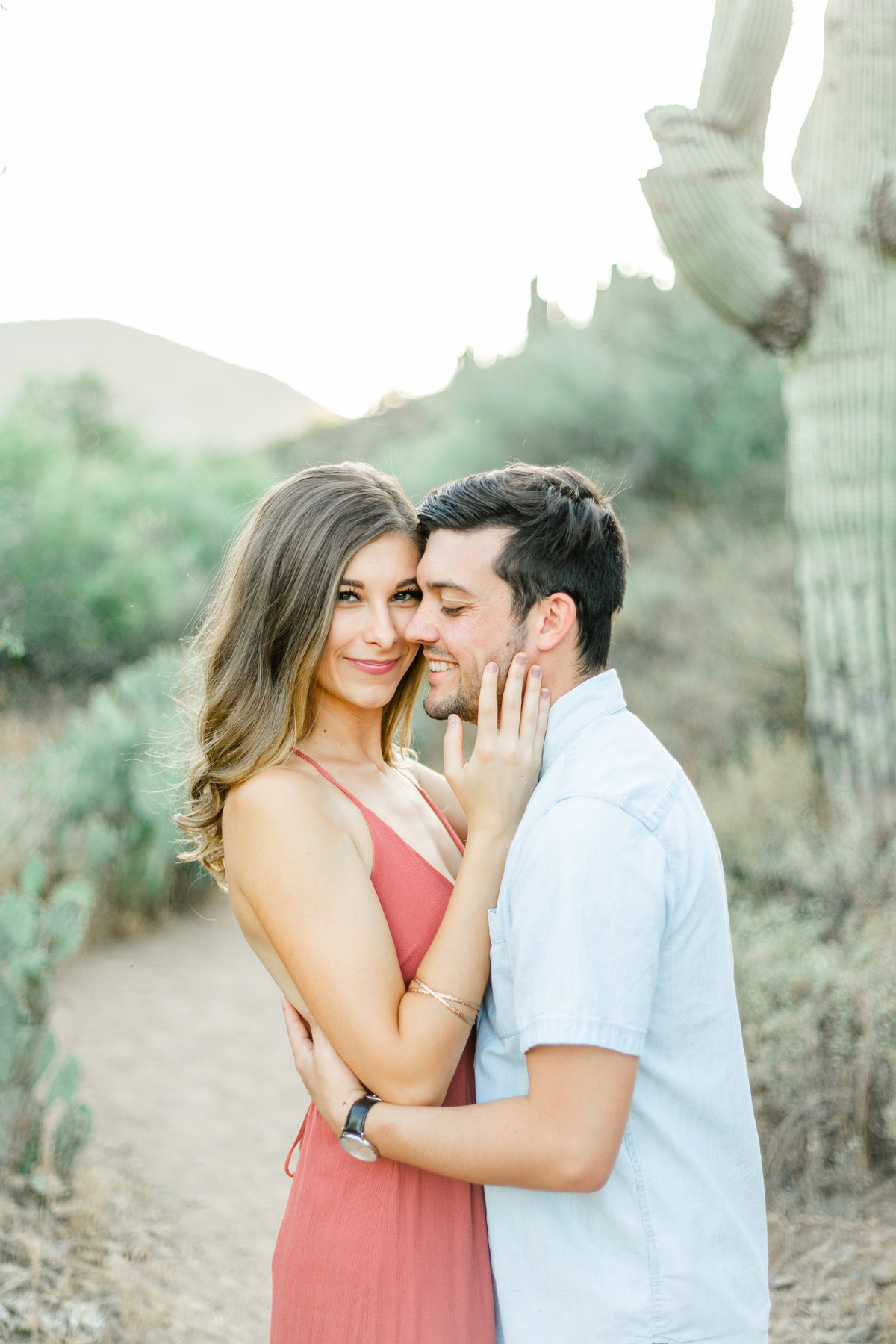Karlie Colleen Photography - Arizona Desert Engagement - Brynne & Josh -121