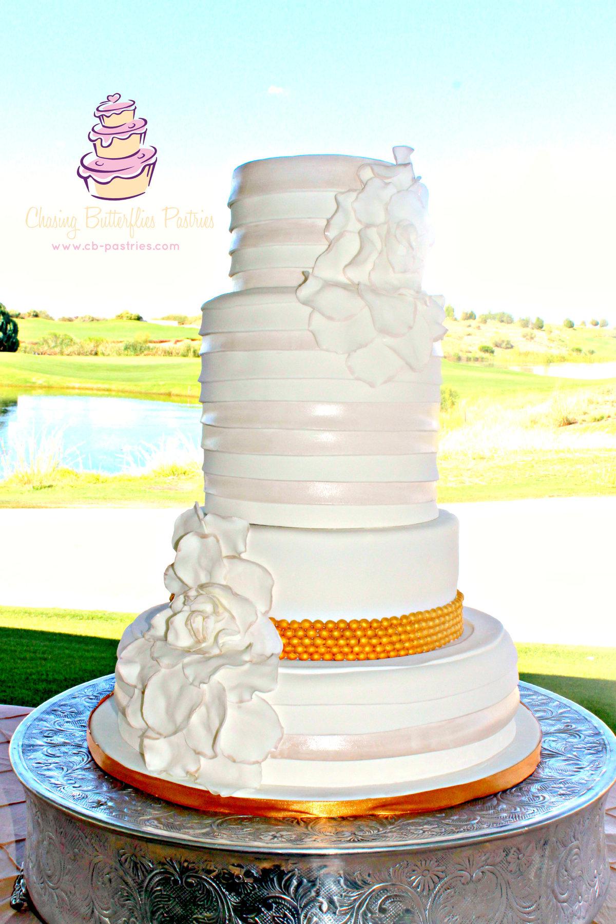 Wedding Cakes El Paso Chasing Butterflies Pastries