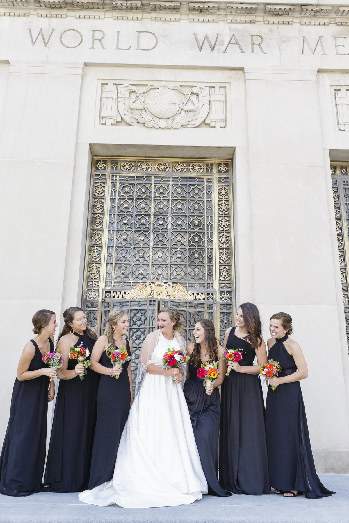 Indiana War Memorial Wedding Pictures