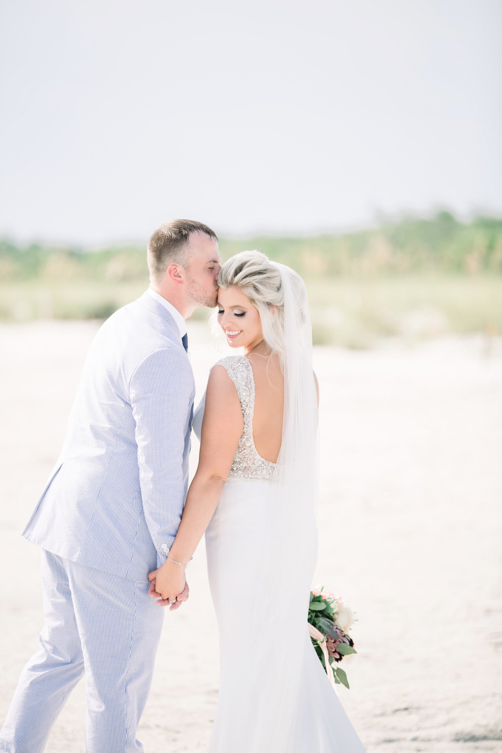 south seas beach wedding photographer