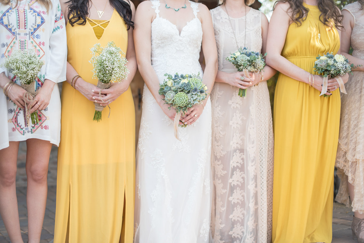 Dreamy Yellow Bohemian Desert Wedding  |  Round Lens PhotographyMarch39