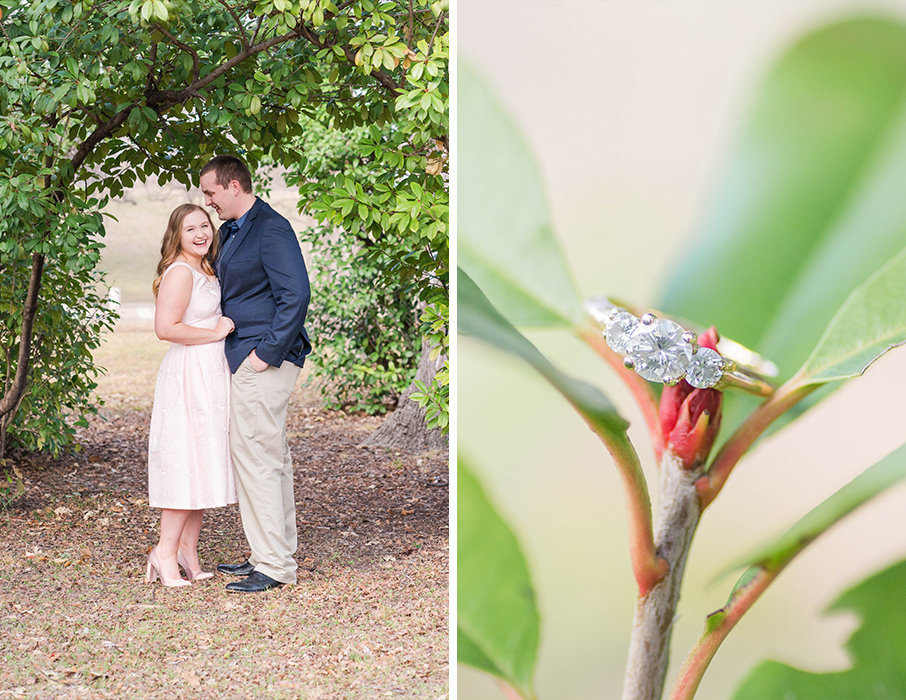 Trinity Duck Pond Whimsical Engagement Session Texas 007