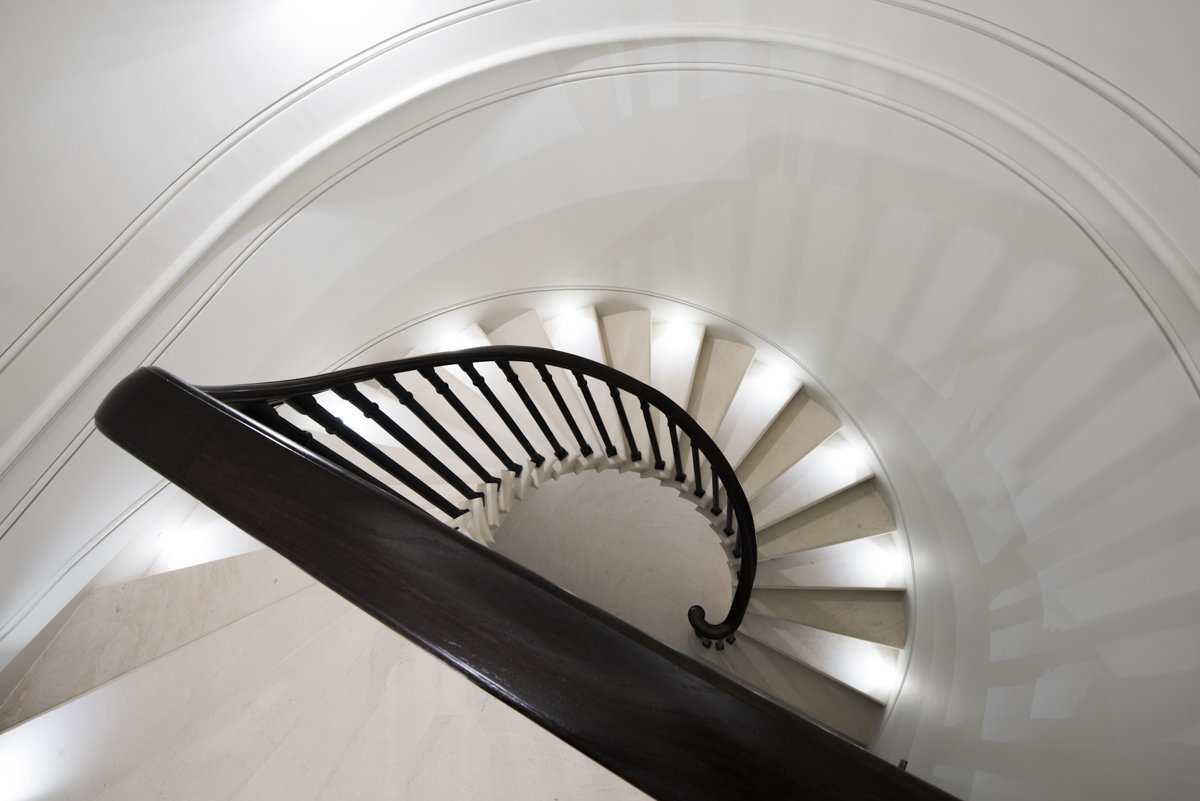 architectural structure staircase