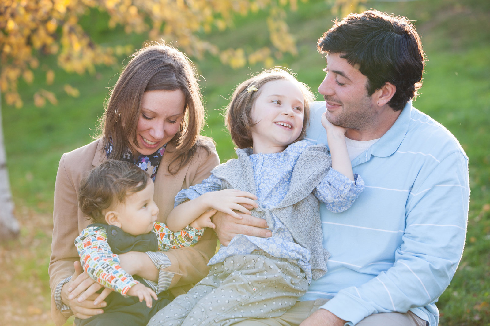 Family portraits by Cornwall NY professional photographer  in the Hudson Valley